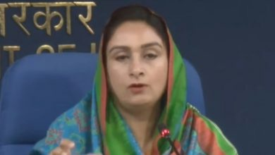 Centre Approves 18 Road Projects For Punjab Harsimrat