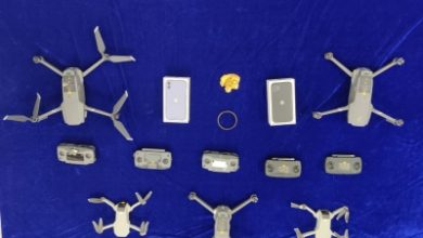 Photo of Drones, iPhones, gold seized by Customs at Chennai airport