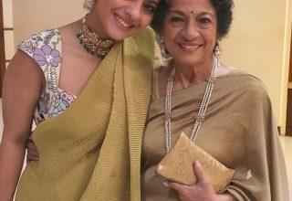 Kajol Writes Of Her Warrior Mother As Tanuja Turns 77