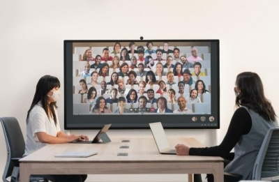 Microsoft Unveils 85 Inch Surface Hub 2s For Hybrid Workplaces