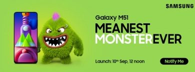 Mo B To Take On Samsung Galaxy M51 In India On Sep 10