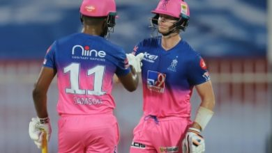Photo of Samson, Smith and Archer help take Rajasthan Royals to 216/7