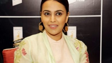 Photo of Swara Bhasker shoots in Delhi following Covid guidelines