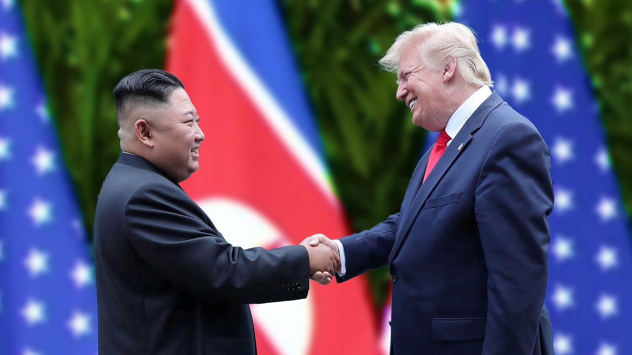 North Korea's Kim Wishes Trump For Quick Recovery From Covid 19