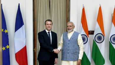 P M Modi Says India Stands With France In The Fight Against Terrorism