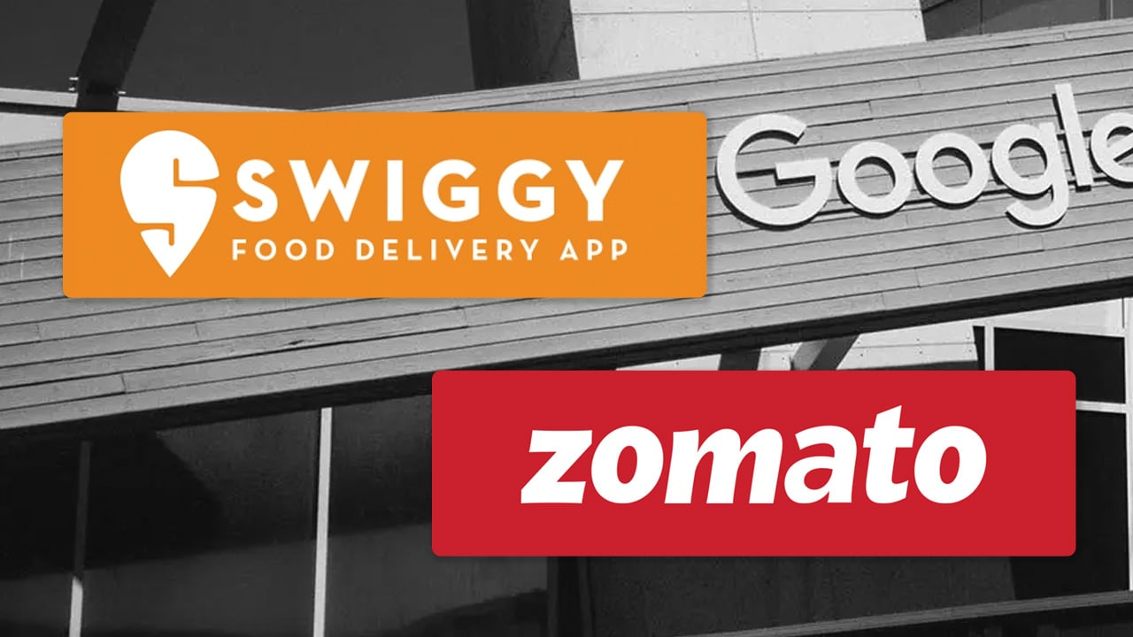 Zomato And Swiggy Get Notice From Google