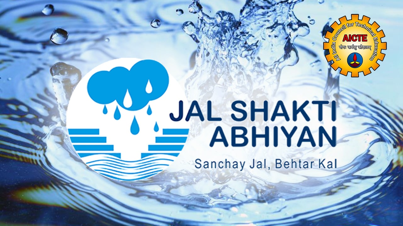 A I C T E India Plans To Work On Jal Shakti Abhiyan