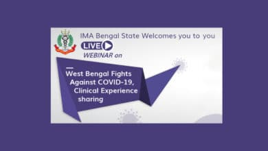 Indian Medical Association Bengal Host Webiner Fight Against C O V I D 19