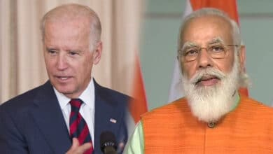 P M Modi Speaks To U S President Joe Biden By Phone Call