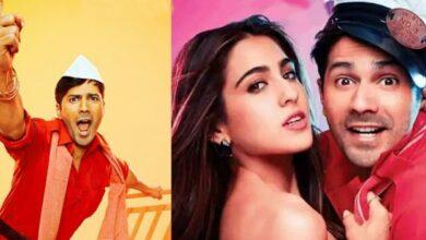 Varun Dhawan And Sara Ali Khan Starrer Coolie No 1 Trailer Out