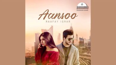 Hussain Ajani Releases Next Song Aansoo Sung By Raafay Israr